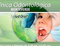 Rotulación Clínica Odontología Monteverde
