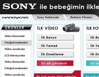 Sony Handycam Microsite