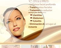 Afiche Promocional para Salud & Belleza Hef - Ziba