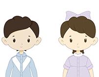 تصميم شخصيات مدارس ريانة الشرقية