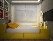 10 Sq m Room