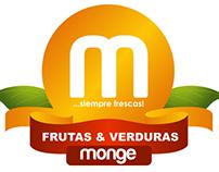 Frutas & Verduras Monge Logotipo