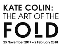 Kate Colin (The Art of The Fold) Exhibition Branding