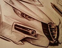 Alfa Romeo Drawings