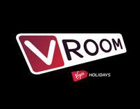 Virgin Holidays - VROOM naming and branding