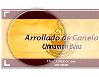 Porta Nombres para Choco Café Don Juan