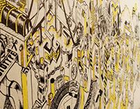 Fathom Studio Mural