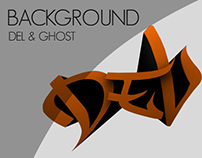 Background Ghost & Del