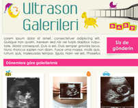 Bebeğin gelişimi -ultrason galerisi