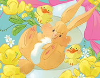 Happy fluffy Easter!