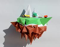 Floating Island - Mjulien