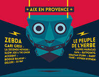 "Festival ""Zik Zac"" Poster"