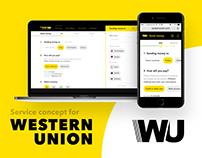 Digital service for Western Union