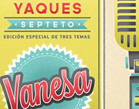Alejandro Yaques Septeto - Vanesa - CD -