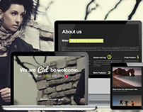 Ciel - Responsive One Page Theme