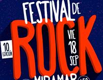 Festival de ROCK • Miramar • Argentina