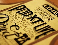 The Podxt Live - Product Info - Hand lettering