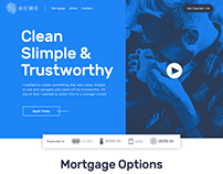 Local Mortgage Bank - Site Design