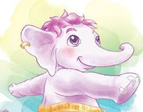Yoga com Histórias: Poses Elefantinho