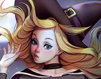 Supergirl Witch Fanart