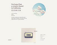 Luna Chai Li — Branding and website