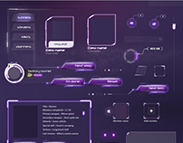 MMO RPG Game UI - Sci-fi