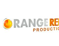 ORANGE REEL Logo Design