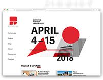 Boston Design Week Rebrand