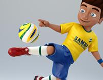 Enzo Samba Soccer Schools