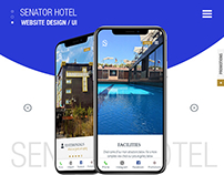 Website Design || Senator Hotel