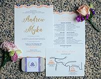 Andrew & Myka Invitation Suite