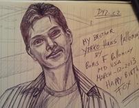 Yerko Hans Pallominy my brother by Boris F pallominy MD