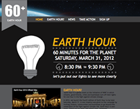 Earth Hour Website