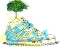 OUS • Skate Shoes Illustration