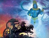 Mahabharat Retold - Illustrations