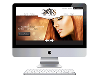 Web UI for Hair Care Product Company