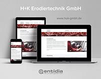 H+K Erodiertechnik GmbH Website
