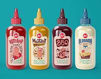 Rub Restaurant Sauce Bottles
