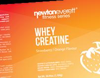 Label design for NewtonEverett