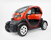Renault Twizy \ Studio