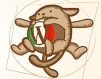 Wapuu Wordpress mascotte - Italia
