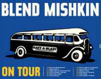 Blend Mishkin On Tour Poster