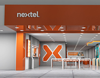 Loja conceito Nextel