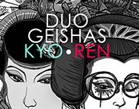 DUO GEISHAS KYO-REN