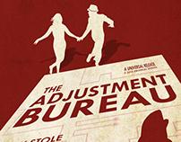 The Adjustment Bureau alternative movie poster