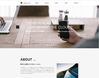 Web Design PSD Template ver. 1.0