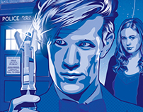 Doctor Who Illustration