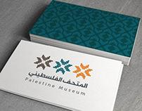 Palestine Museum Branding
