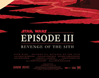 Star Wars Episode III alternative movie poster