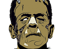 Frankenstien Illustration